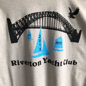 Riverton yacht club graphic Tee